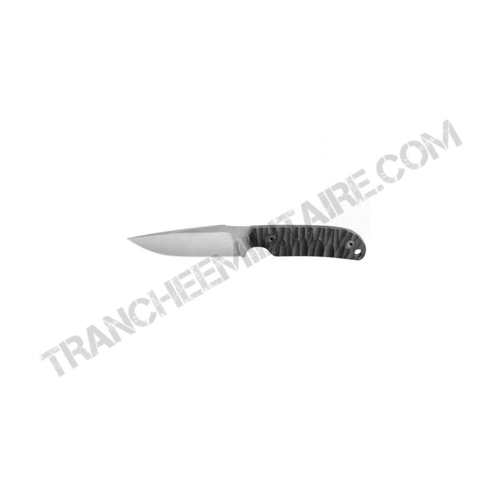 Couteau Commandeur ® manche G10 noir toxifié