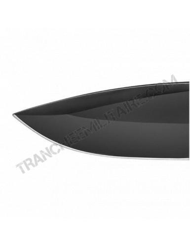 Couteau Maraudeur® paracord 550 serration (noir)