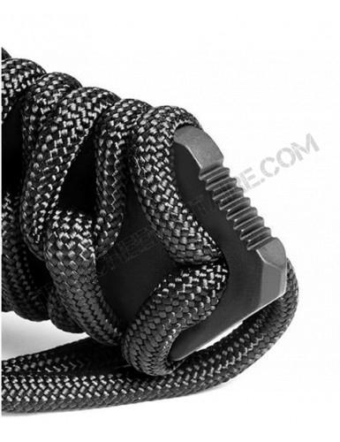 Couteau Maraudeur® paracord 550 (noir)