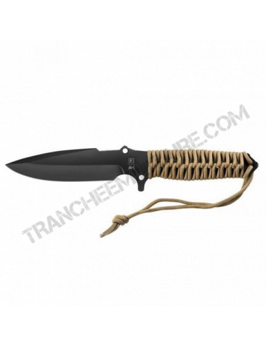 Couteau Maraudeur® paracord 550 (coyote)