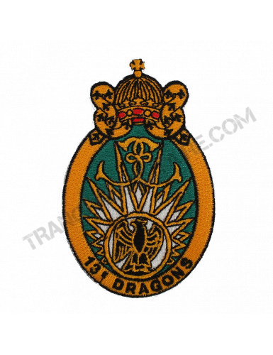 Badge 13ème Régiment de Dragons Parachutistes (13ème RDP)