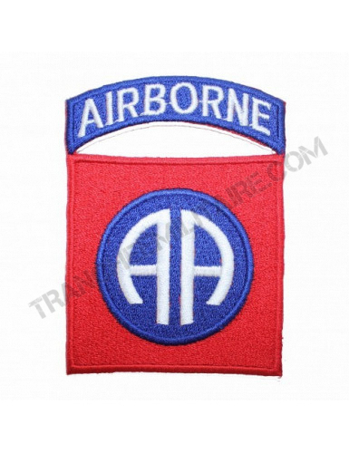 Patch 82nd AIRBORNE DIVISION