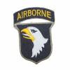 Patch US 101ème Division Airborne (bord vert)