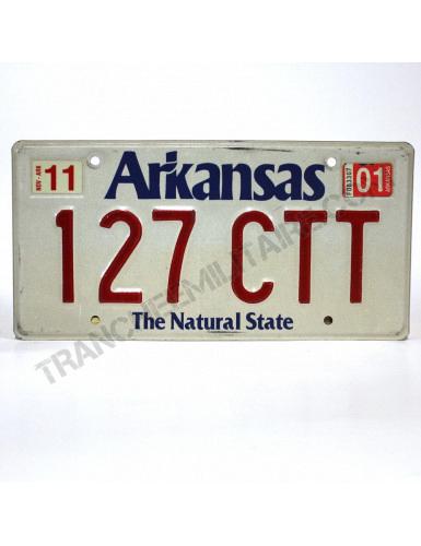 Plaque US Arkansas
