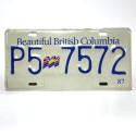 Plaque US British Columbia