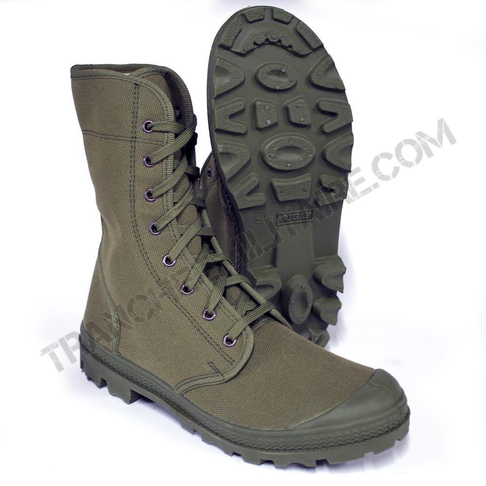 Chaussures de brousse Aigle Armée française