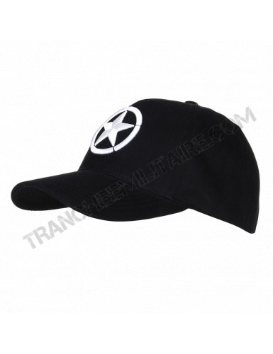 Casquette Baseball ALLIED STAR WWII 3D
