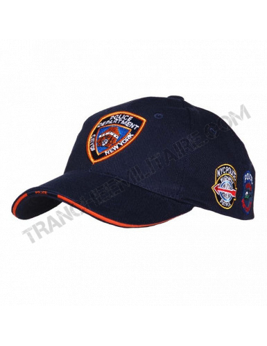 Casquette baseball NYPD (police New York)