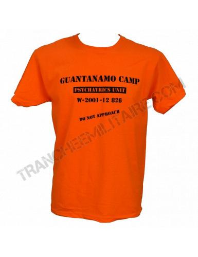 T-shirt Guantanamo (100% coton)