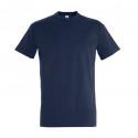 T-shirt bleu marine (100% coton)