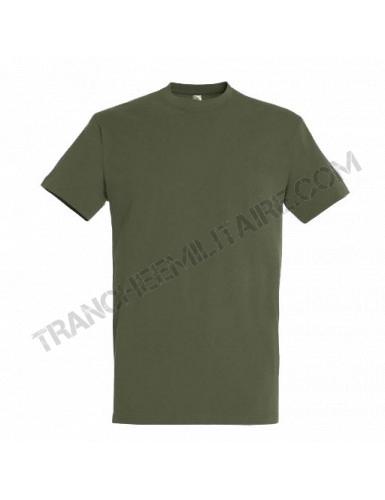 T-shirt vert Armée (100% coton)
