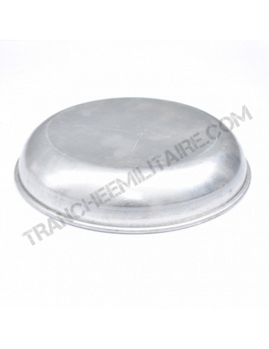 Assiette en aluminium de l'Armée Française