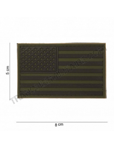 Patch 3D PVC Drapeau USA (BV)