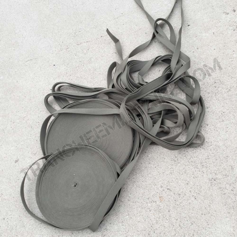 Sangle kaki coton 2mm