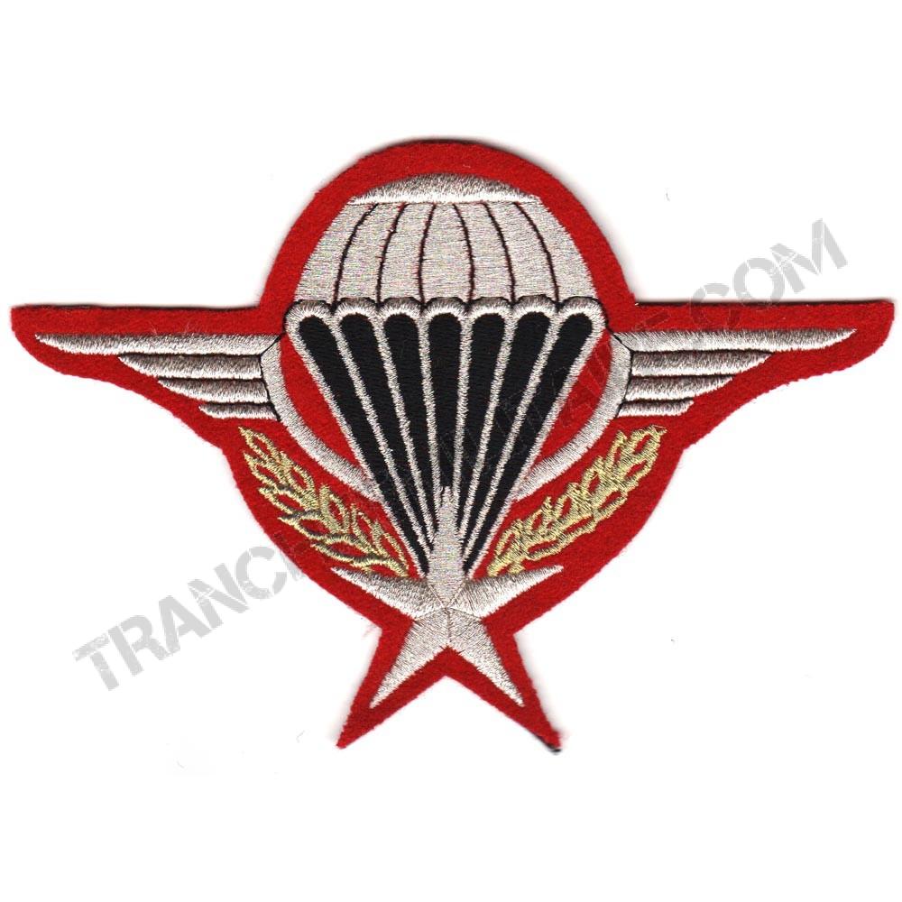 Brevet Parachutiste GM (broderie en cannetille)