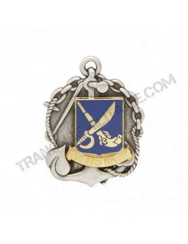 Insigne béret Commando de Marine