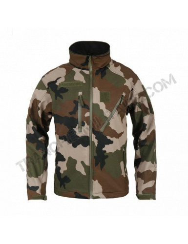 Veste Softshell Elite ARES (camouflage Centre Europe)
