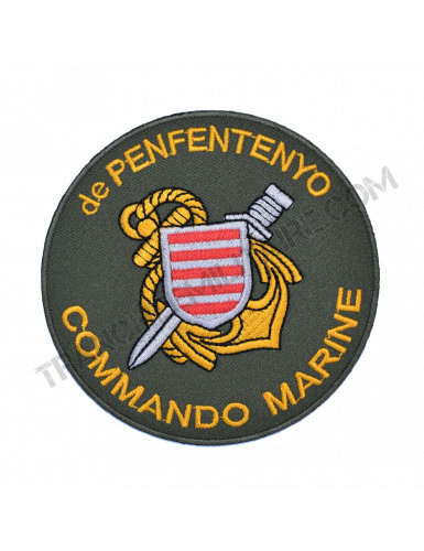 Ecusson Commando Marine De...