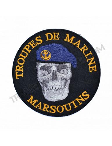 Ecusson Troupes de Marine...