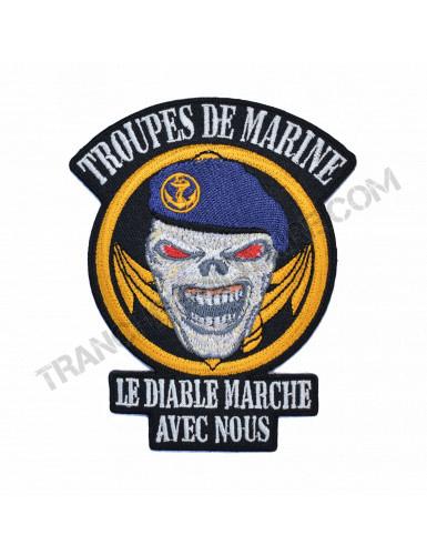 Ecusson Troupes de Marine