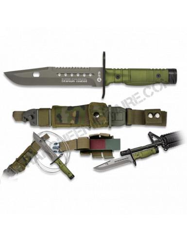 Couteau K25. Baïonnette....