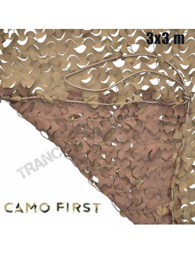 Filet de camouflage Désert...