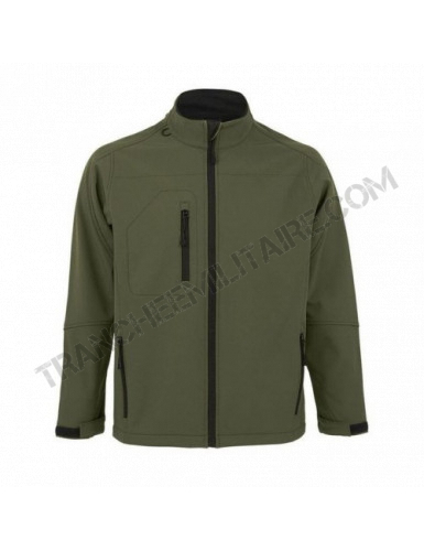 Veste softshell Army + pack...