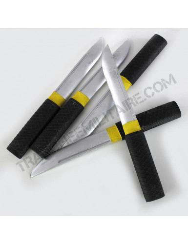 Lot de 5 couteaux d'exercice