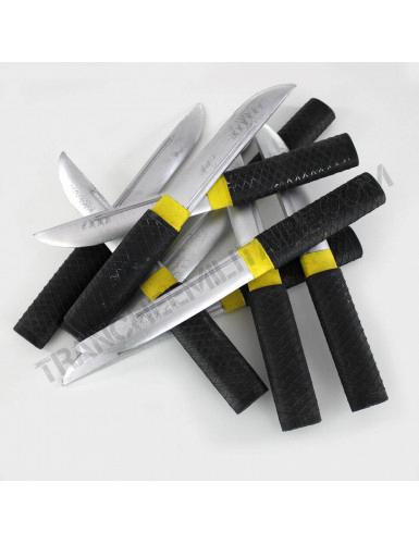 Lot de 10 couteaux d'exercice