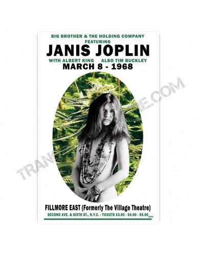 Affiche Janis Joplin 1968