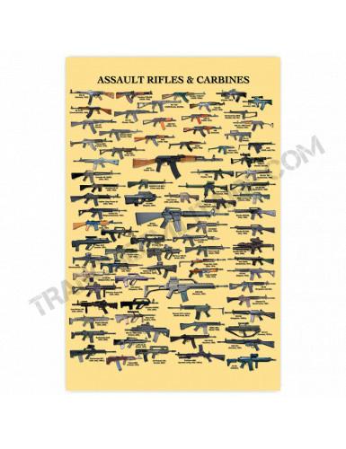 Affiche Fusils d'assaut