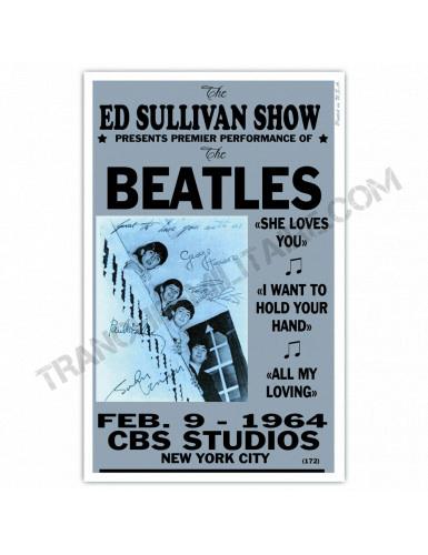 Affiche Beatles CBS Studios
