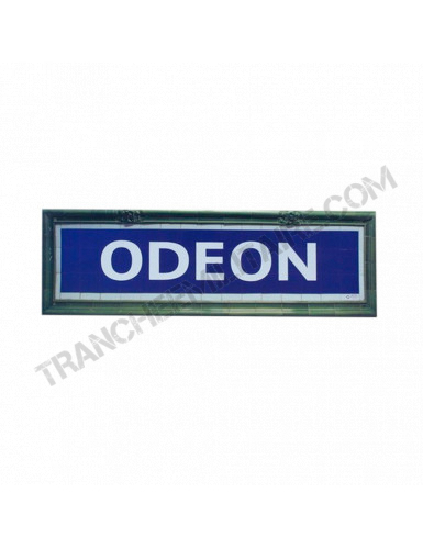 Plaque Métro Odéon