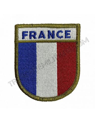 Ecusson France (bord vert)