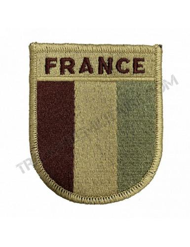 Ecusson France (désert)