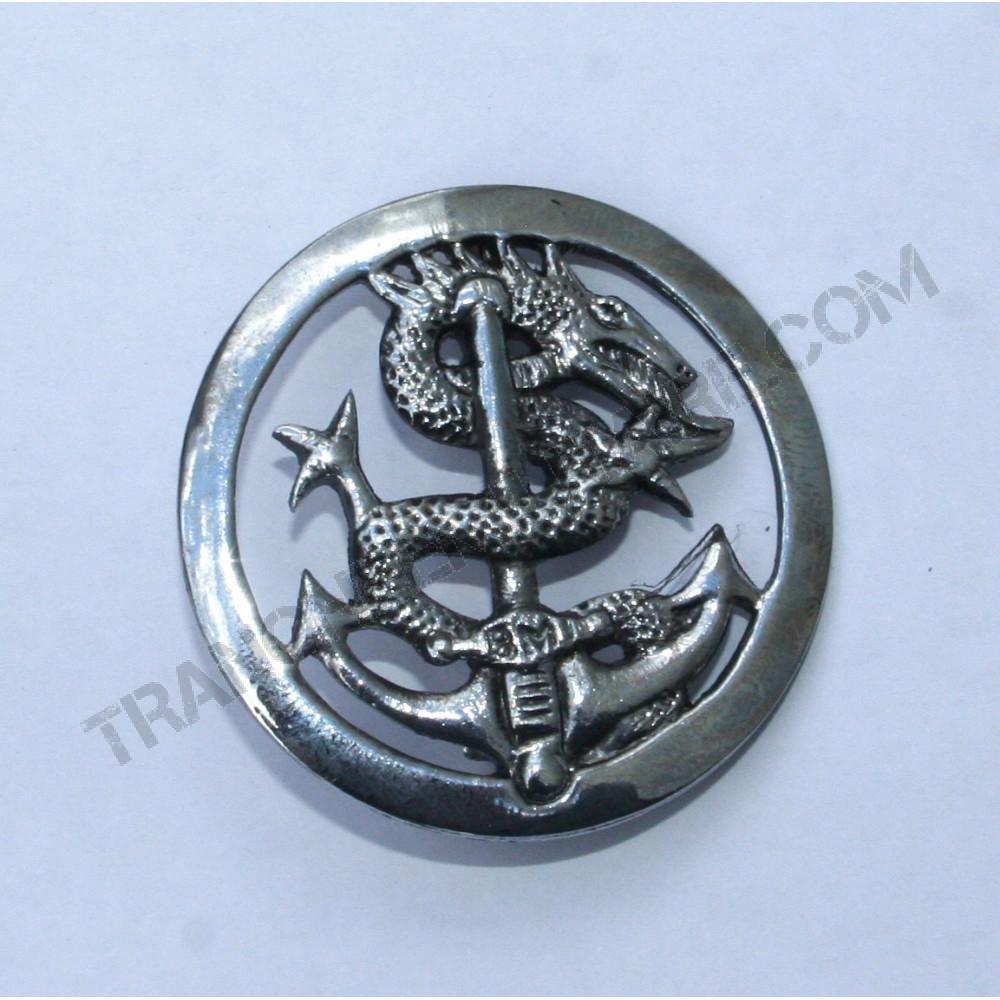 Insigne de béret Bataillon de marche Indochinois