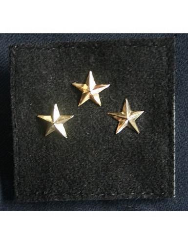 Galon de combat Général Division 3 étoiles Armée française