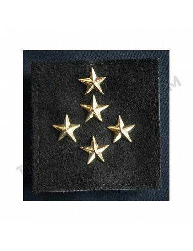 Galon de combat Général d'Armée 5 étoiles Armée française