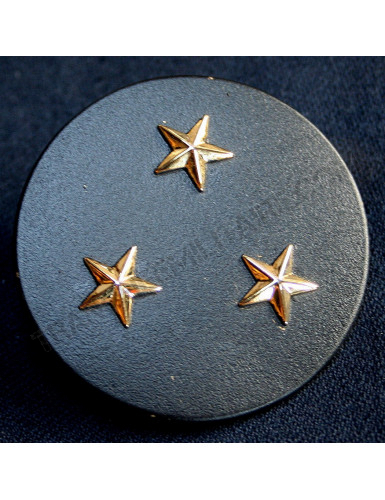 Insigne béret Général Division 3 étoiles Armée française