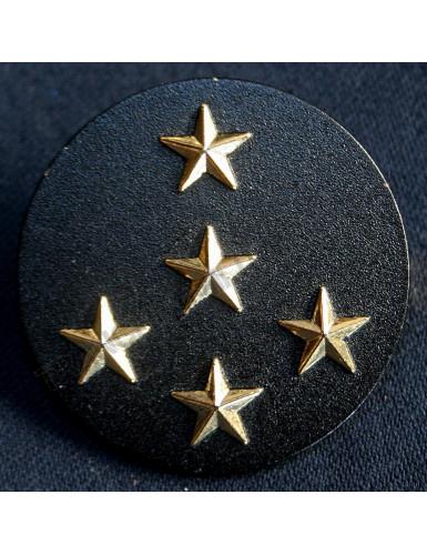 Insigne béret Général d'Armée 5 étoiles Armée française