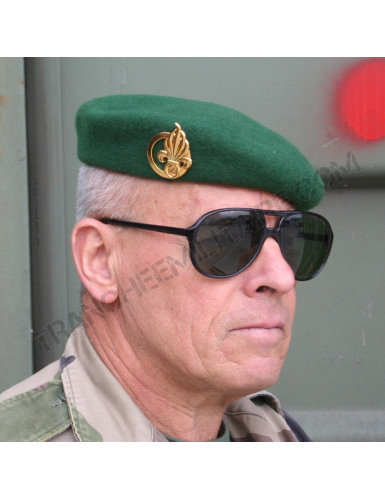 Béret Commando Légion Etrangère (Fabrication française)