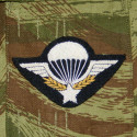 Brevet Parachutiste Indochine/Algérie (broderie en cannetille)