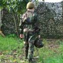 Combinaison Pilote camouflage woodland pour enfant