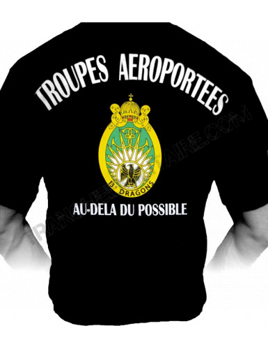 T-shirt 13ème Régiment de Dragons Parachutistes (Paratrooper Inc)