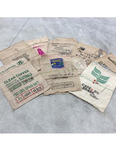 Lot de 10 sacs à café pour décoration