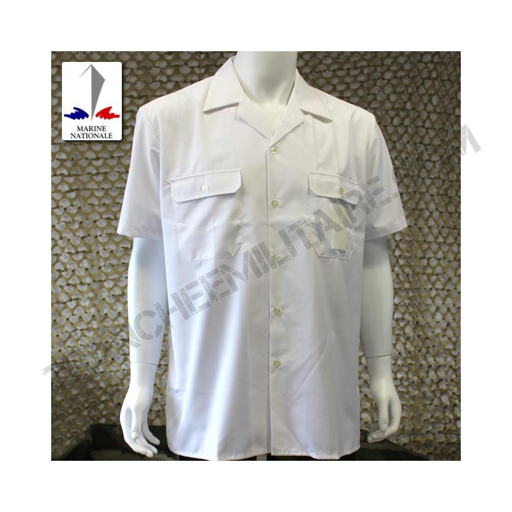 chemisette blanche marine nationale. Black Bedroom Furniture Sets. Home Design Ideas