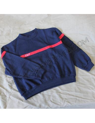 Sweat-shirt d'exercice Jeune Sapeur Pompier