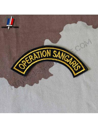Arc de bras Opération Sangaris