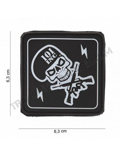 Badge PVC 101 Inc Tête de mort