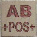 Insigne de Groupe sanguin